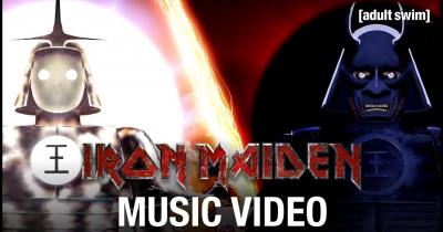 Дивіться новий кліп Iron Maiden