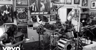 Барабанщик Foo Fighters Тейлор Хокінс зібрав гурт NHC