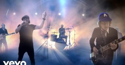 Дивіться нове відео AC/DC