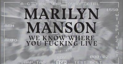 Мерилін Менсон опублікував нову пісню We Know Where You Fucking Live