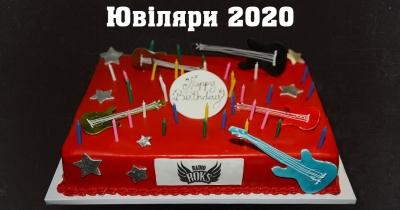 Ювіляри 2020 року